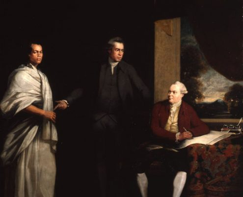 William Parry - Sir Joseph Banks with Omai