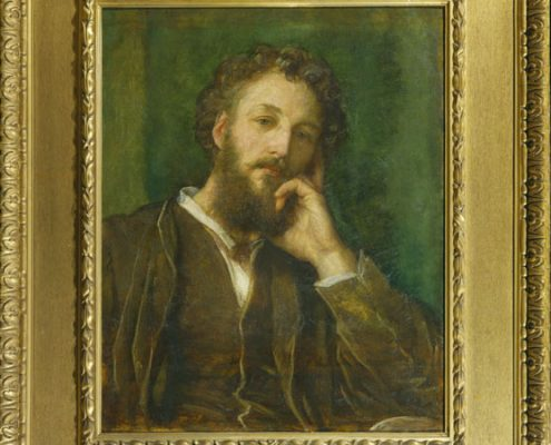 George Frederic Watts - Portrait of Frederic Leighton