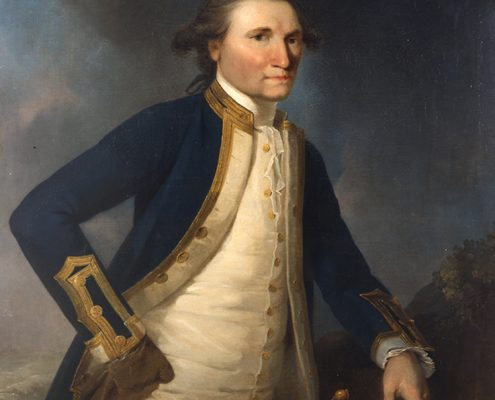 James Webber RA - Captain Cook